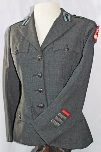 WWII American Red Cross (ARC) Women's Service Tunic with US Army Pacific PatchUniforms - 4729