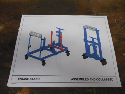Engine Start / Test Stand Plans <br/> Build this yourself and Start, run and tune your engine