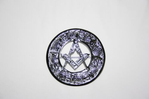 Scottish Highland Dress Masonic Square and Compass Plaid Brooch (Free Delivery)