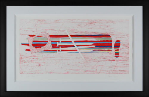 James Rosenquist - For Gene Swenson, hand-signed etching, Framed
