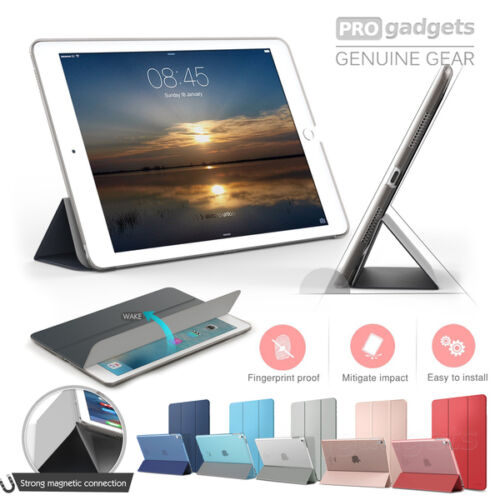 Genuine MOKO Slim Frosted Back Stand Cover for Apple iPad Pro 9.7 2017 Case