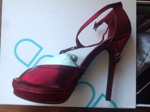 Errol Arendz Whitney Ruby Heels Stiletto   UK 3 or UK 4    BNIB