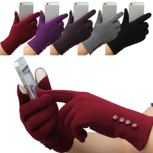 Fashion Womens Winter Outdoor Sport Warm Gloves Full Finger Touch Screen Gloves