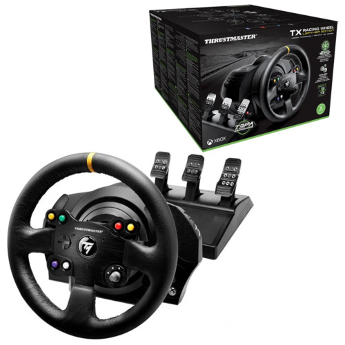 Thrustmaster TX Racing Wheel Leather Edition T3PA Pedals for Xbox One Series PC