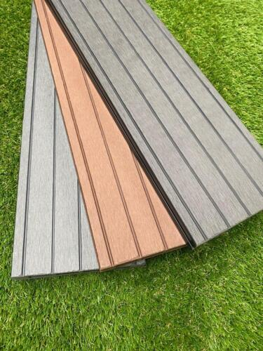Create your own Composite Decking from our Boards, Trims, Edging & Fixing Packs