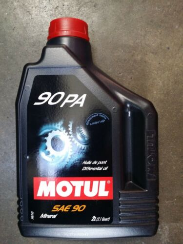 100122 Motul 90 PA Mineral lubricant - limited-slip differentials LSD  (2 Liter)