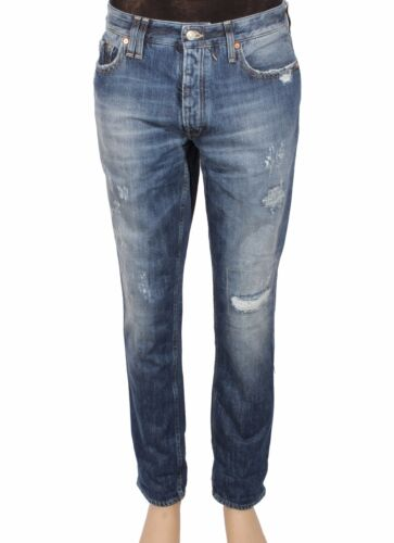 Jeans uomo CYCLE MPT314 D1079 2892 Denim Cotone 11 OZ Real Indaco