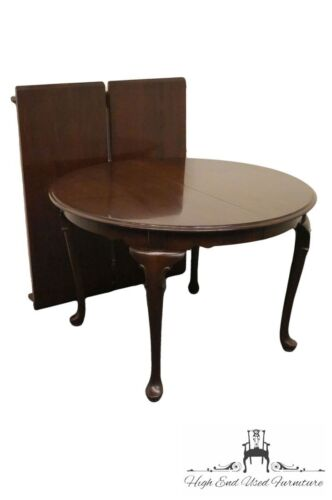ETHAN ALLEN Georgian Court 44″ Round Dining Table 225 Vintage Finish