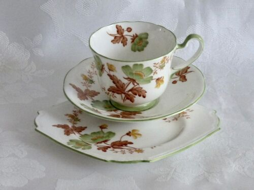 COLLECTABLE ART DECO FINE CHINA AYNSLEY  TRIO ENGLAND