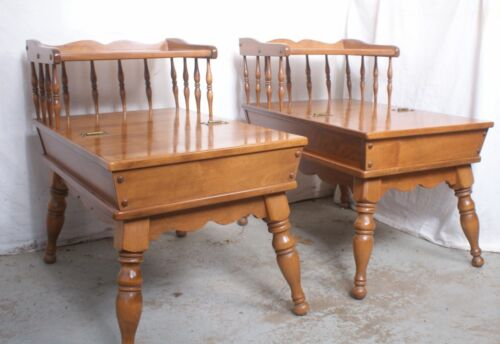 Vintage Ethan Allen Maple/Birch End Table Early American Old Maple (1 Available)