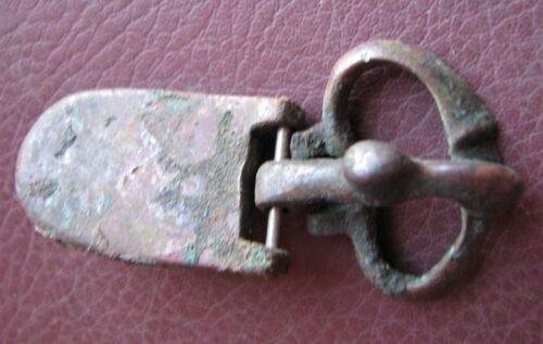Authentic Ancient Artifact > Sarmatian belt buckle, 3rd - 5th Centuries AD K29