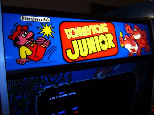 Top Holiday Gifts Arcade Machine,-Coin Operated,-Amusement,Nintendo,-,Donkey Kong Jr
