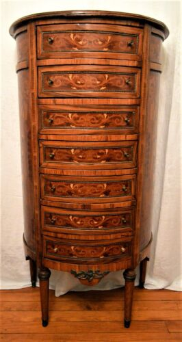 Vintage French Louis XV Lingerie Chest Semainier of Drawers/Dresser