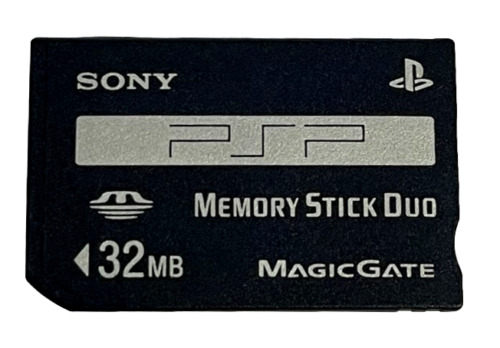 Genuine Sony 32mb Sony PSP Memory Stick Pro Duo Memory Card