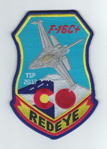 120th FIGHTER SQUADRON F-16C+ TSP 2017(THEIR LATEST) patchAir Force - 48823