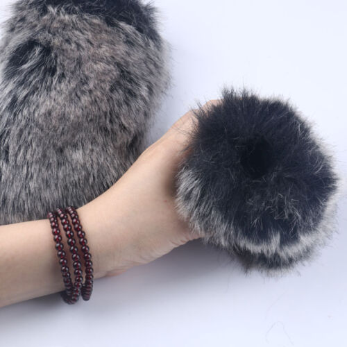 Outdoor Furry Cover Windscreen Windshield Muff For Rode VIDEOMIC Microphone
