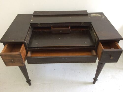 ON SALE NOW: Was $275, now $225 Vintage Mahogny 'Spinet' Desk 1920s