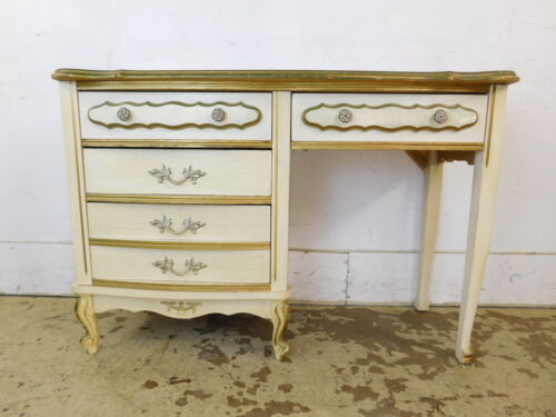 Ships Greyhound ~ Vintage Dixie Style French Decorated Vanity Desk