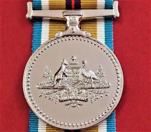 AUSTRALIA ARMY NAVY AIR FORCE AFGHANISTAN CAMPAIGN SERVICE MEDAL REPLICAOther Eras, Wars - 135