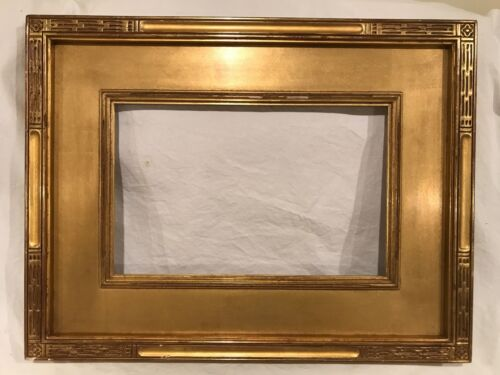 15x10 Newcomb Macklin Style Arts & Crafts Picture Frame - Antique Style