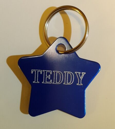 Dog Cat ID Collar Tag Tags Deeply engraved Personalized  Pet Name Identity.