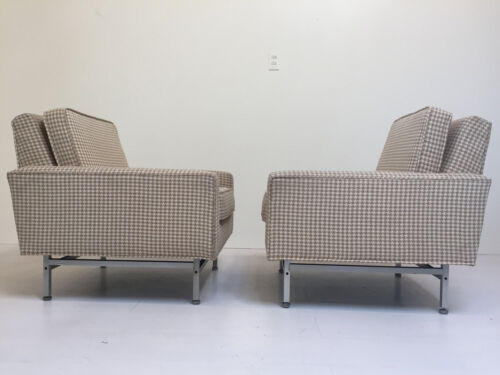 Pair of Mid Century Modern Armchairs by Kasparians