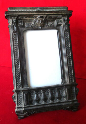Antique Gutta Percha Picture Frame From the Civil War Era