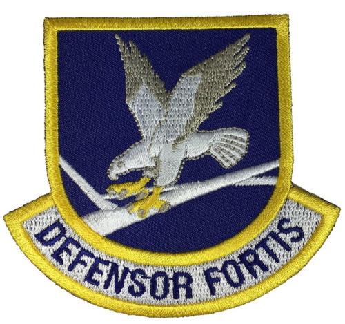 USAF AIR FORCE DEFENSOR FORTIS SHIELD PATCH SECURITY FORCE MILITARY POLICE MPPatches - 36078