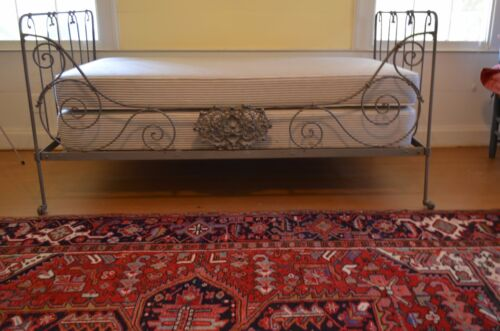 19th Century Victorian French Iron Folding Daybeds, Campaign Beds