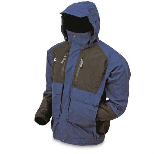 Frogg Toggs Men's Waterproof Firebelly Toadz Lightweight Hooded Jacket Rain Coat