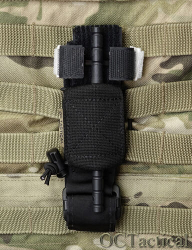CAT Trap Black Molle Tourniquet Holder Pouch