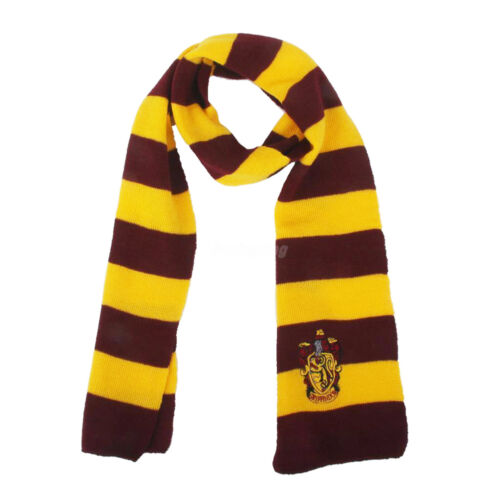 Harry Potter Vouge Gryffindor House Cosplay Knit Costume Scarf Wrap