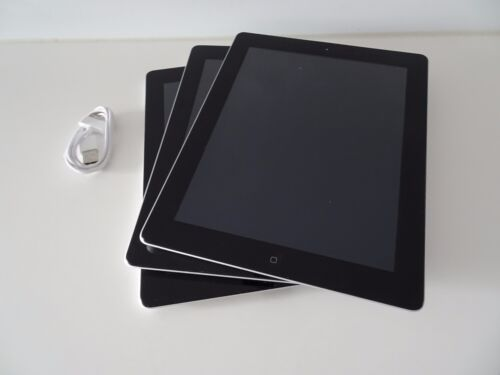 2x Fair Condition Apple iPad 2 16GB, Wi-Fi, 9.7in - Black Tablets