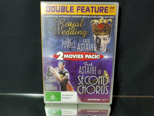 Royal Wedding & Second Chorus Double Feature DVD Video NEW/Sealed