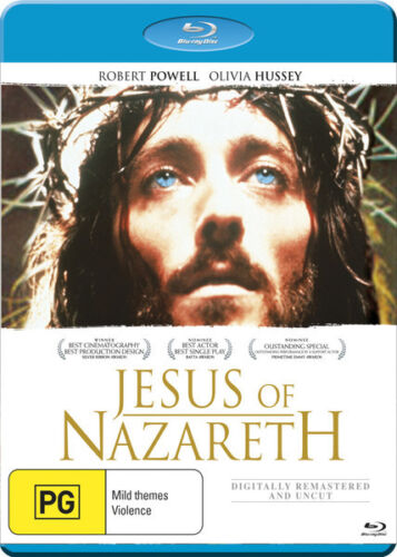 Jesus of Nazareth - Blu-Ray 40th Anniversary [New/Sealed]