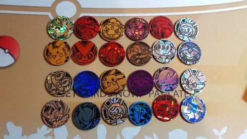One Pokemon card game token coin (1) amazing variety! great gift <br/> Genuine Cards New Sun & Moon | XY | Australian Reseller