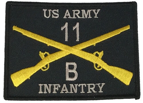 COMBAT INFANTRYMAN 11B PATCH ARMY INFANTRY GRUNT CROSSED RIFLES BRANCH INSIGNIAPatches - 36078