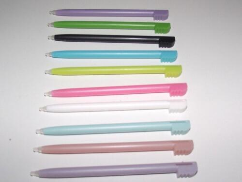 10 x Mixed Colour Touch Screen Stylus Nintendo DS/ DS Lite