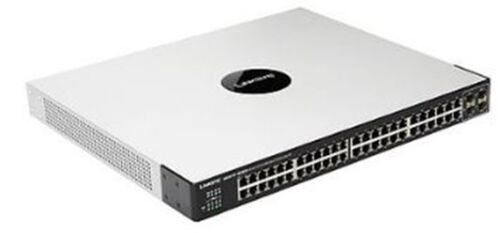 Linksys SGE2010P 48 Port Ethernet Network Switch with PoE