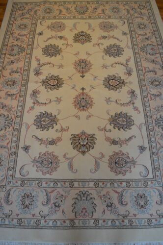 6' x 8' Persian Tabriz Vintage Handmade Floral Rug (ca.1990) - FREE SHIPPING!