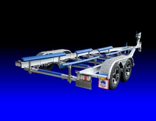 Spitfire Aluminium and Stainless Steel 7.75m 3000kg Boat Trailer