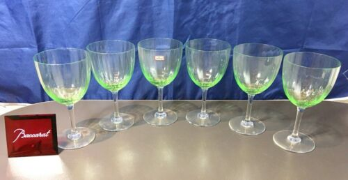 Baccarat Crystal Aquarelle Vert Verre n°2 156102 Water goblet NEW IN BOX