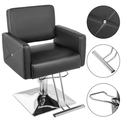 Salon Cutting Hairdressing Chair Hydraulic Adjustable Barber PU Leather <br/> 💅 Beauty Equipment 💅 ✂ Hairdresser Tat ✂