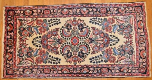 5' x 3' Persian Hamedan Handmade Hand Knotted Genuine Antique Rug - Mint HUGE!