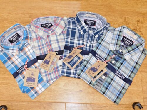 BNWT MENS THE NEW IVY PREMIUM QUALITY AUTHENTIC 100% COTTON HAND-WOVEN SHIRT