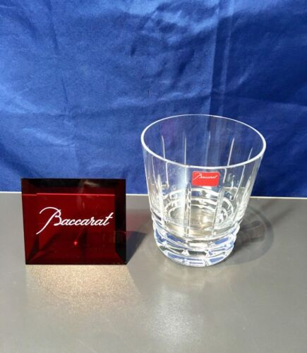 Baccarat Crystal Arlequin Gobelet Old Fashion 2101038 Tumbler NEW IN BOX