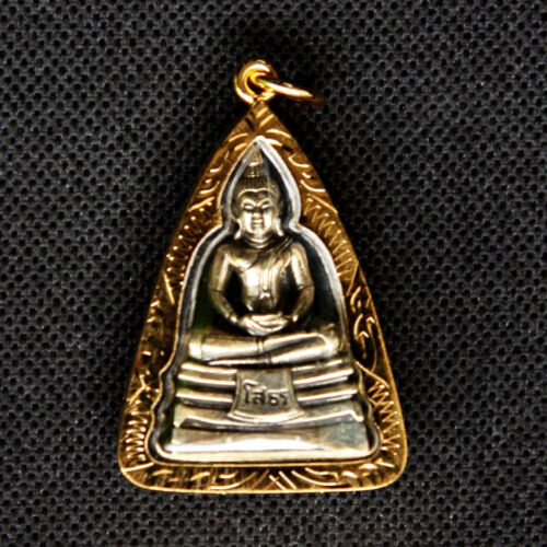Thai amulet Buddha Phra LP Sothorn pendant Sacred Lucky Wealth Rich Successful