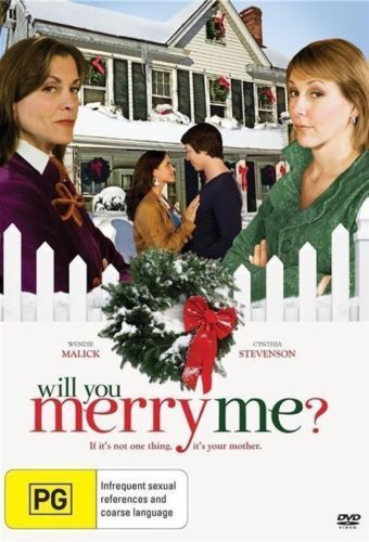 WILL YOU MERRY ME DVD [New/Sealed] Christmas Movie