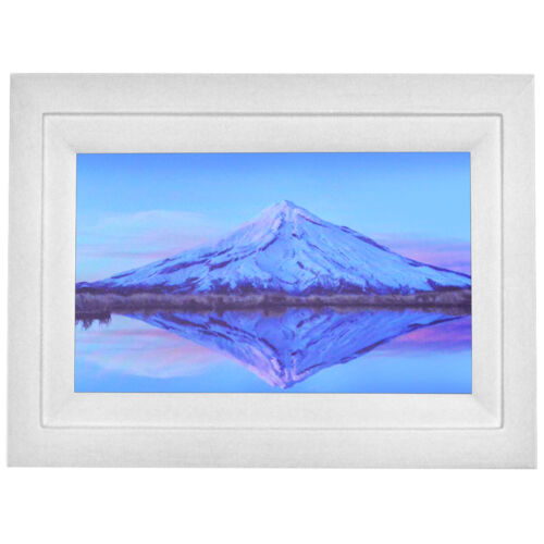 """Life Made Digital Touch-Screen 10"""" Picture Frame with Wi-Fi - White - NOB"""