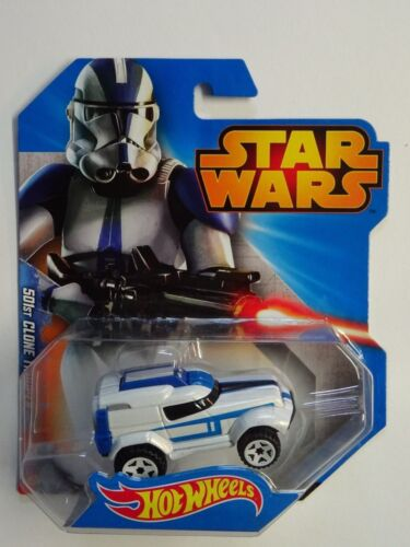 Star Wars - Hot Wheels - Voiture 501st Clone Trooper - Mattel - Neuf